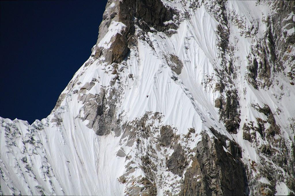 Fearless Climbing Pumori