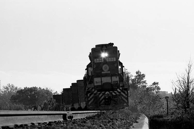 Train at Columbia, SC ca. 1975