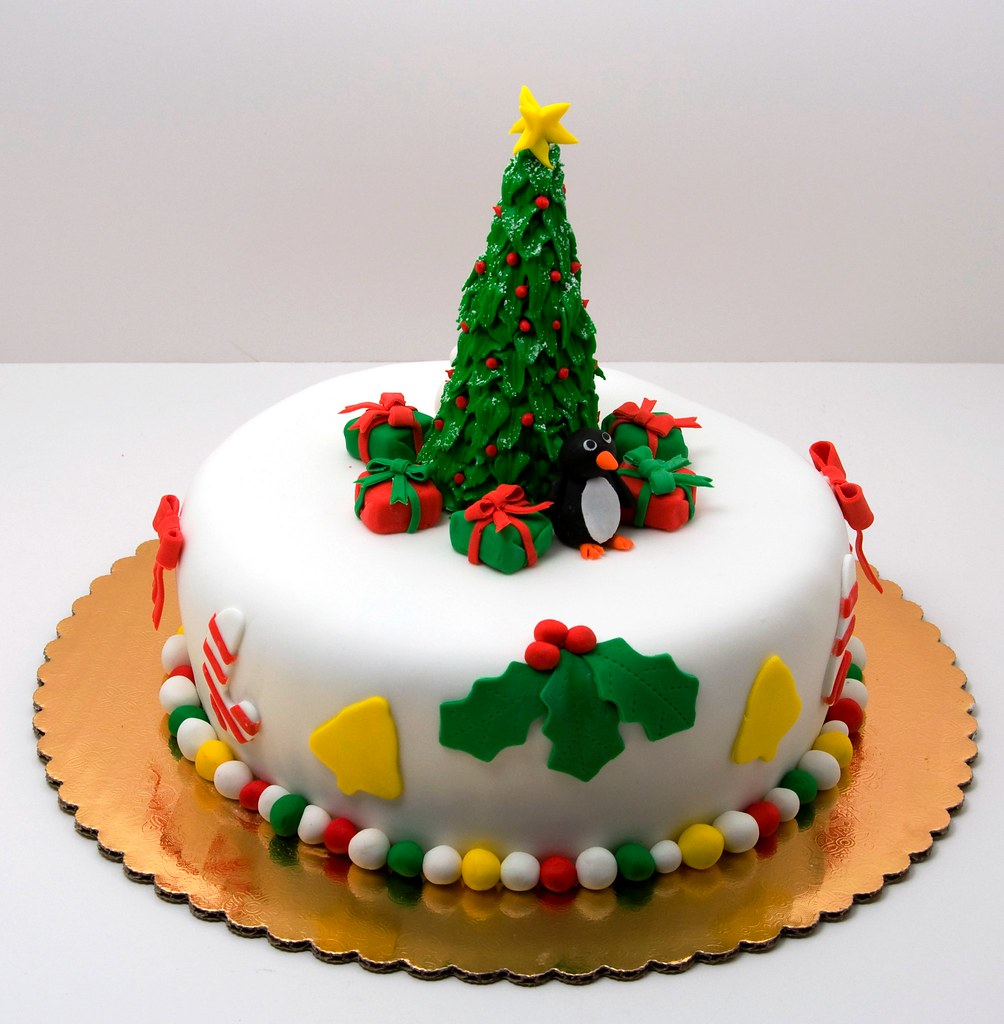 Images For Christmas Cake Decorations : Christmas Cake - a photo on Flickriver