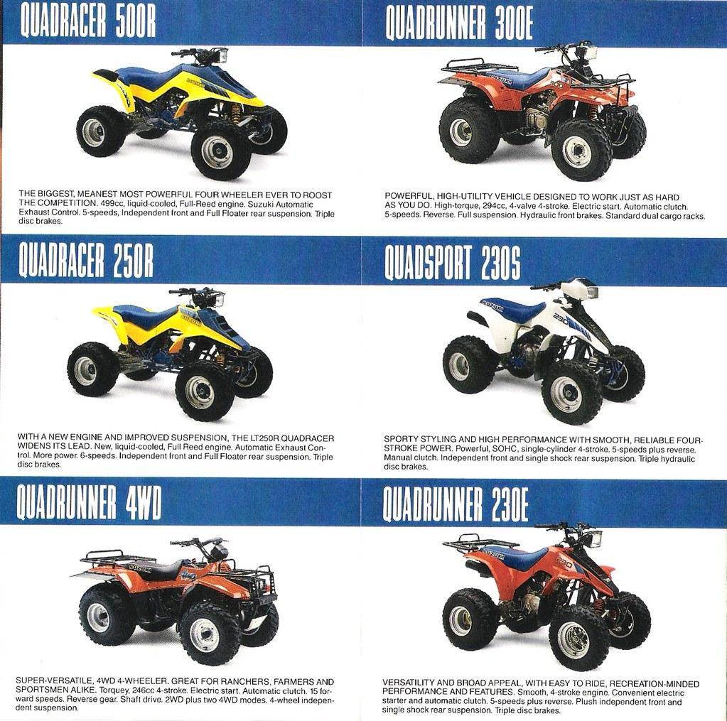 1987 Suzuki Quads