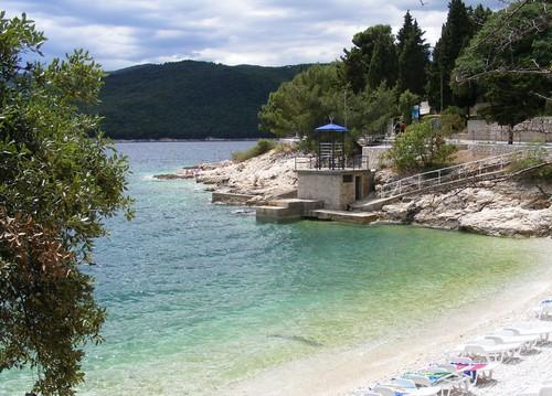 Rabac, beach
