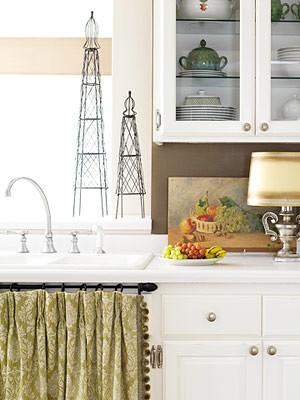 Skirted Sink Kitchen : Kitchen with sink skirt Flickr - Photo Sharing!