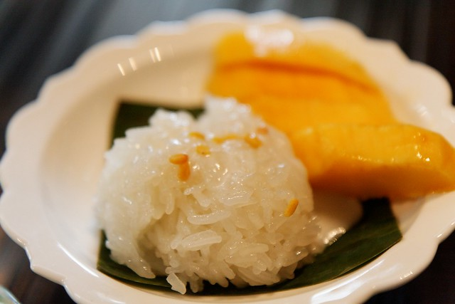 Mango sticy rice