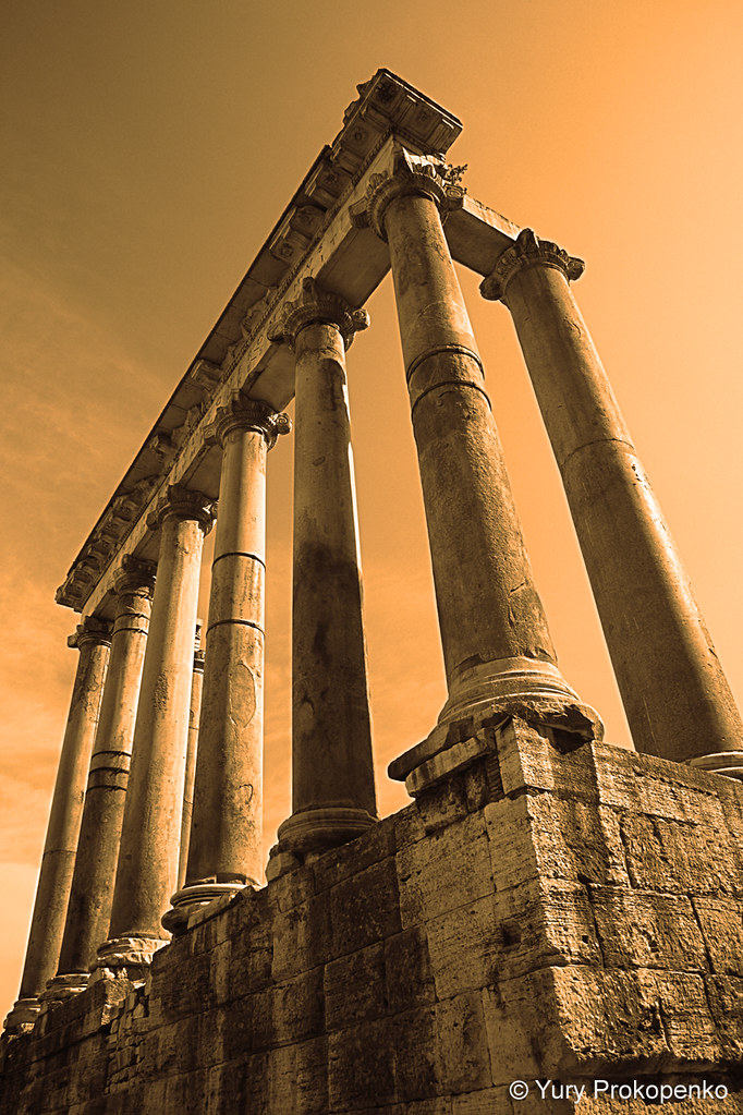 Italy :: Rome :: Temple of Saturn