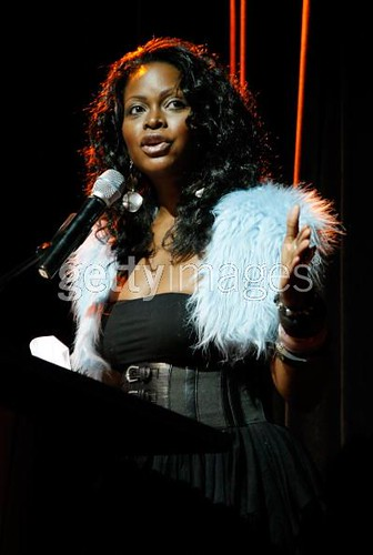 Literary Awards Host Abiola Abrams