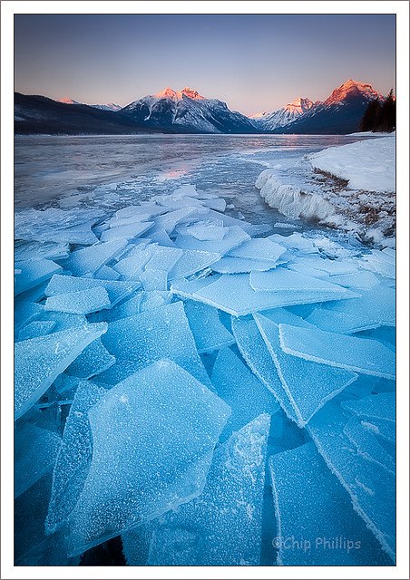 Lake McDonald Ice