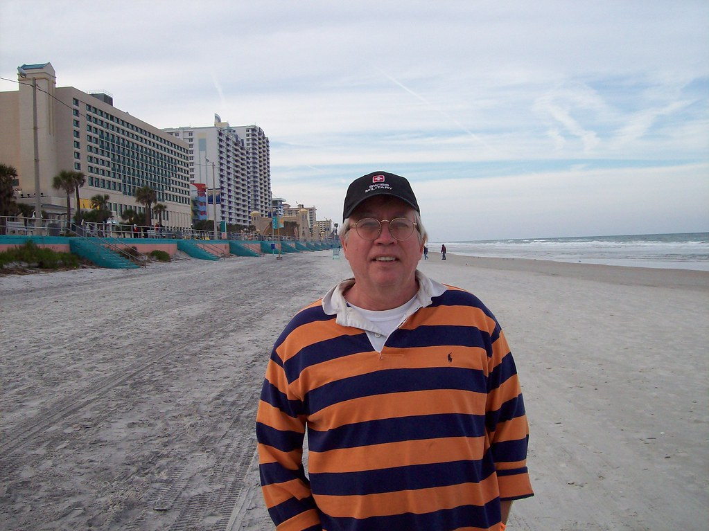 Me at Daytona Beach