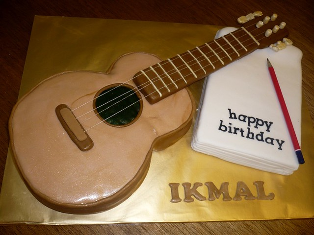 Acoustic Guitar Cake Images : Acoustic guitar cake Flickr - Photo Sharing!