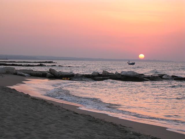 marina di chieuti tramonto 2008