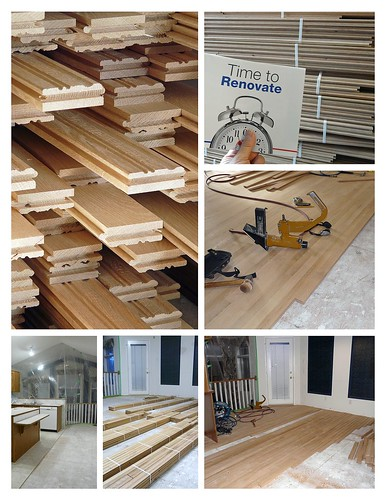 Home Renovation----Hardwood Floors