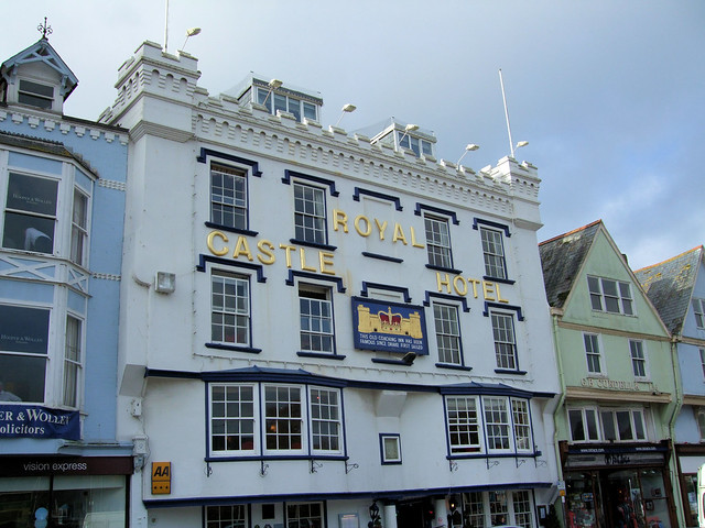The Royal Castle Hotel, Dartmouth, Devon.