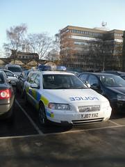 North Yorkshire Police VOLVO V70 T5 RPU  YJ07 YXZ