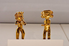 Gold figurines