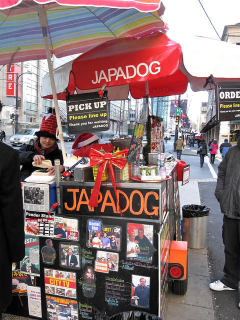Standing in line at JapaDog