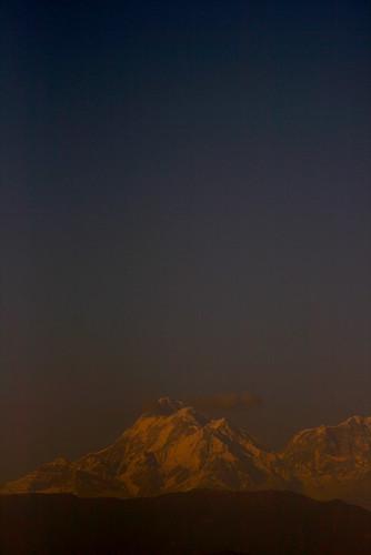travel sunset sky india snow mountains canon landscape dusk uttaranchal kausani himalayas trishul mountainrange