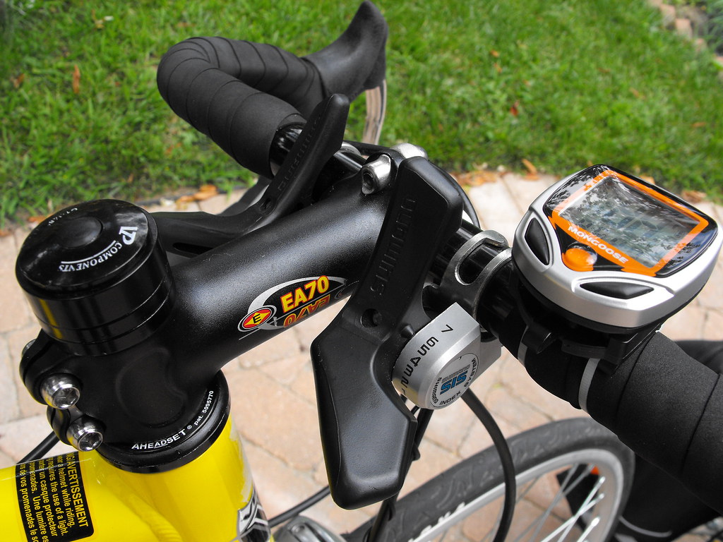 Replaced road bike stem.
