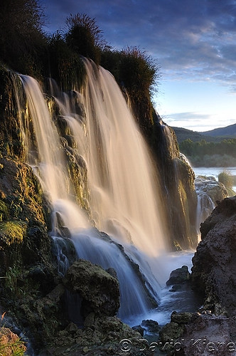 sunrise waterfall idaho snakeriver rockymountains fallscreek fallscreekfalls greateryellowstoneecosystem