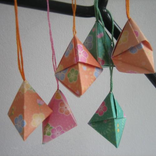 Origami Christmas Decs...