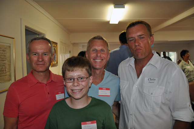 Dave, Sam, Steve and Chris