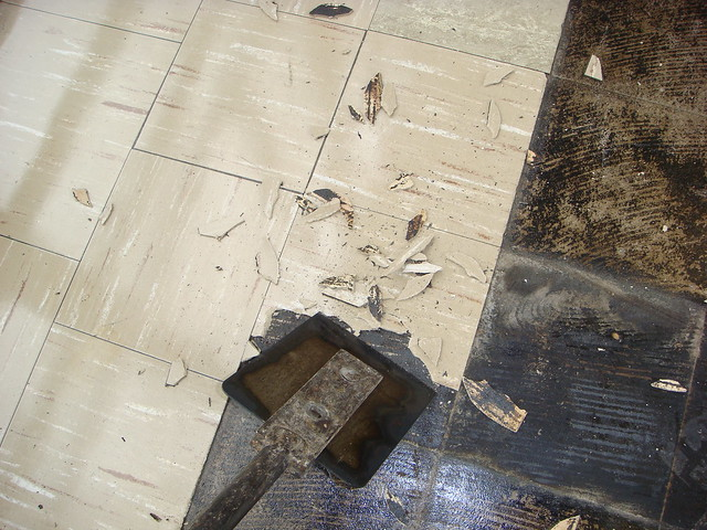 Asbestos Floor Tile Removal Flickr Photo Sharing