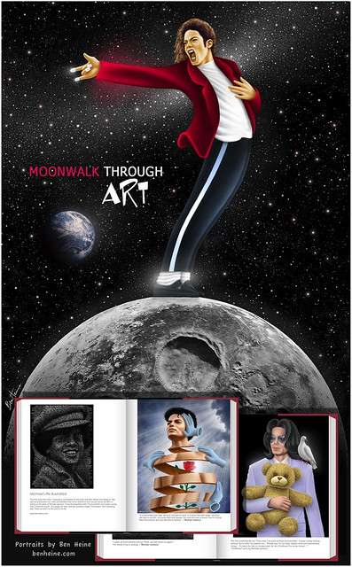 Moonwalk Through Art - Michael Jackson Tribute Book