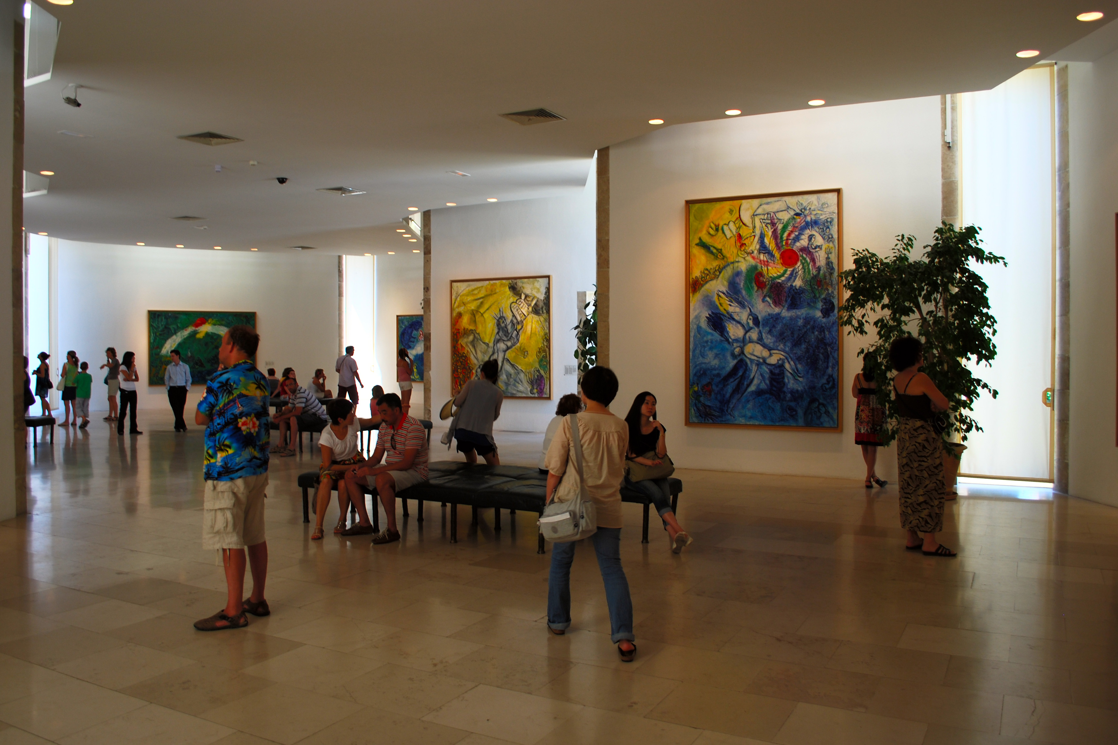 Marc Chagall museum | When entering the museum, all bags ... Chagall Museum
