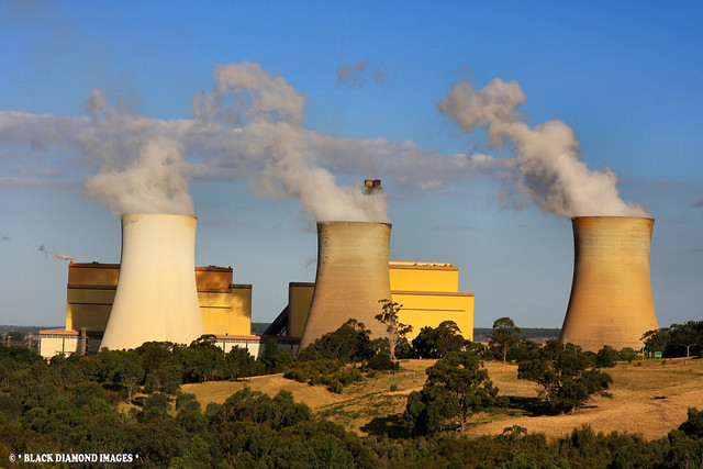 Yallourn Power Station - Latrobe Valley, Victoria, Australia