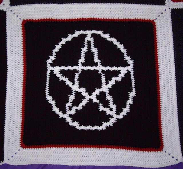 Crochet Crone's Designs: New Pentacle Granny Square Crochet Pattern