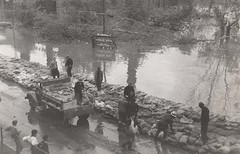 Hurricane of 1938 - Sandbags, view 2
