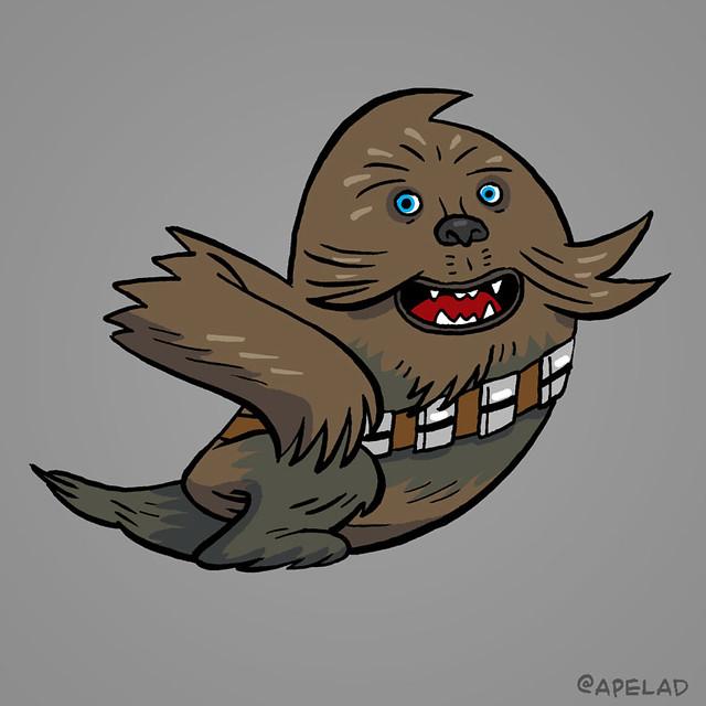 Chewbacca, Twitter Avatar
