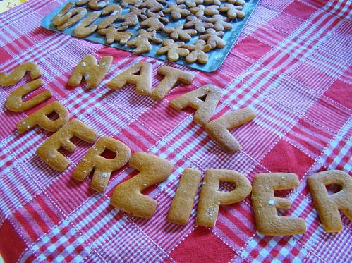 biscoitos natalinos de mel