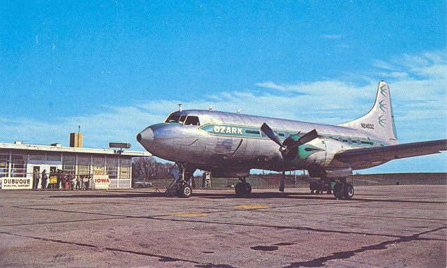 Dubuque, Iowa, Airport, Ozark Airlines | Flickr - Photo Sharing!