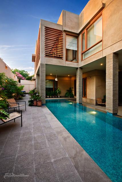 Fancy houses in karachi masha allah non usual pictures - Metropolitan swimming pool karachi ...