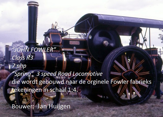 "Jan Huijgen - ""JOHN FOWLER"" Class R3 Road Locomotive"