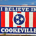 I Believe in Cookeville mural