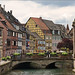 Colorful Little Venice in Colmar