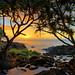 Sunset on the Garden Isle by mojo2u