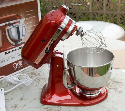 The gourmet challenge a death in the kitchen peanutbutter gelato kitchenaid awesomeness - Gelato kitchenaid ...