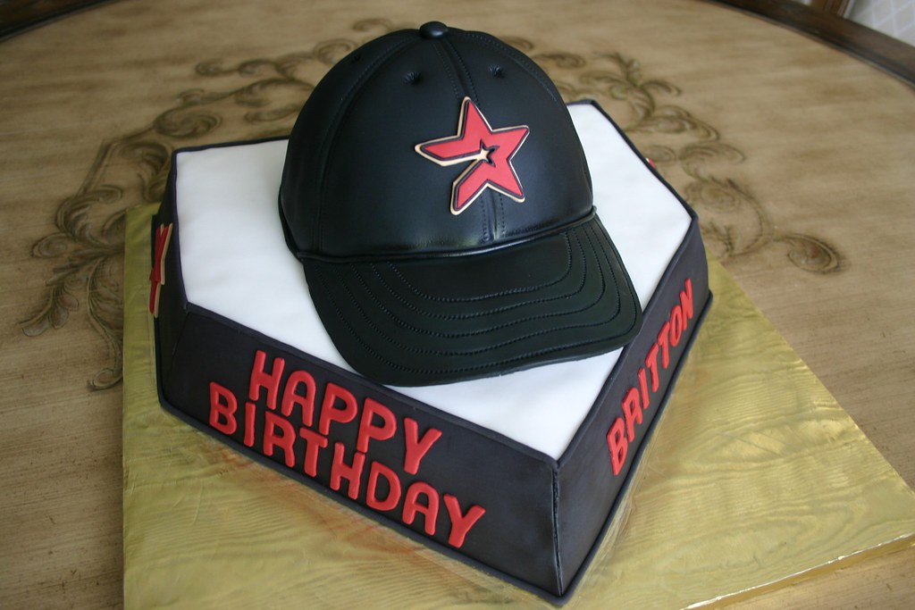Houston Astros Poker Cake 86th Birthday