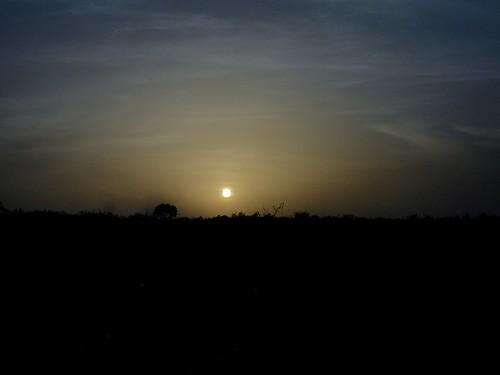 africa sunset sun dusk dust ouagadougou burkinafaso afrique
