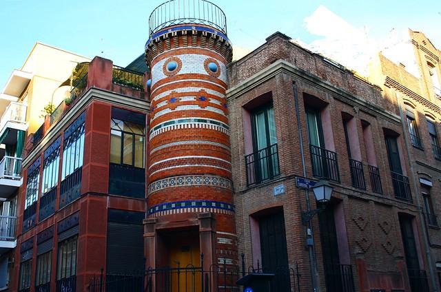 colonia madrid moderno casa neomud jar del arquitecto jul