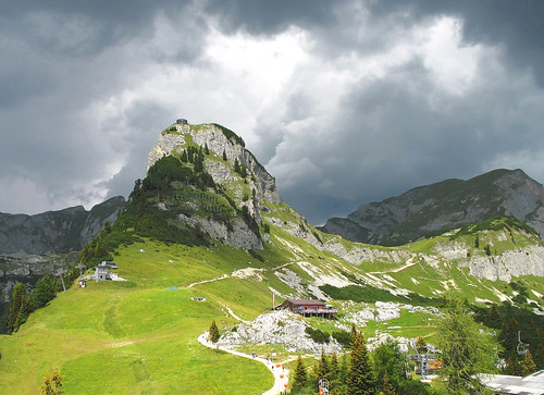 Eagle Nest on the Top of a Majestic Mountain - Gschöllkopf / Rofan, Nature in Tyrol Austria
