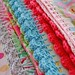 crochet trim on pillowcase... by rose hip...