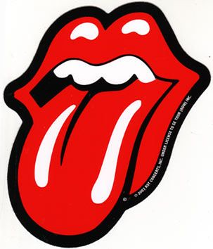 Rolling Stones tongue Temporary Tattoo sticker | Flickr ...