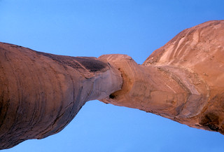 Delicate Arch from directly below