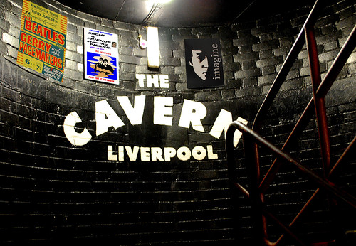 THE CAVERN.With Posters Old & New..Size Original advised