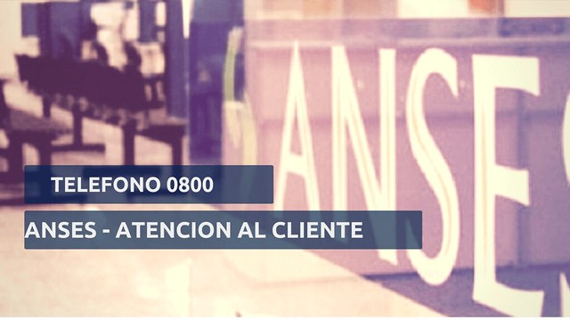 Telefono 0800 ANSES