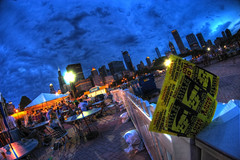 Taste of Chicago Blue Hour