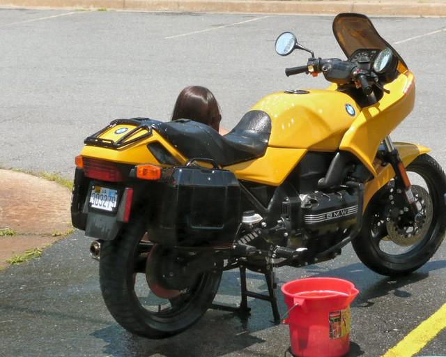MFI Bikini Bike Wash, a charity drive to support the Pediatric Brain Tumor ...