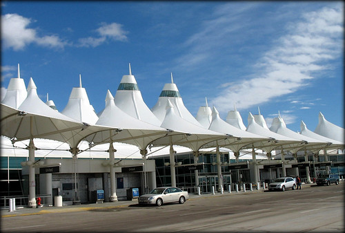 Denver International Airport (DIA), Colorado, USA